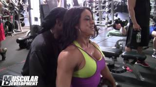 getlinkyoutube.com-Jessica Perales - Delts with Charles Glass