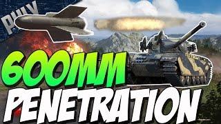 getlinkyoutube.com-600MM PENETRATION - Strv-81 ATGM & Wyvern Turboprop (War Thunder Tank Gameplay)