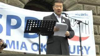 getlinkyoutube.com-Demonstrace ZA NAŠÍ KULTURU A BEZPEČNOU ZEM (17.10.2015)
