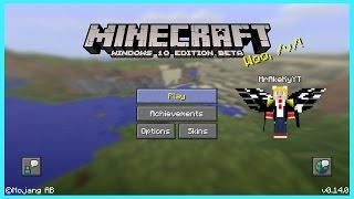 getlinkyoutube.com-Minecraft PE 0.14 แบบ Minecraft PC มีปีก คราฟของแบบคอม - ไม่ใช่ Mod ไม่ใช้ Blocklauncher