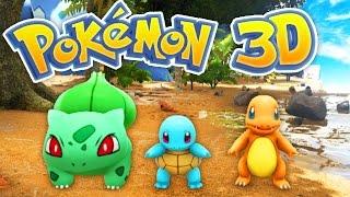 getlinkyoutube.com-The BEST POKEMON Game EVER! (Pokemon 3D #1)