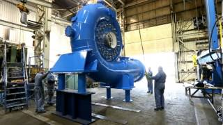 getlinkyoutube.com-The Fabrication and Assembly of an 8.5MW Francis Turbine at Ebco Industries