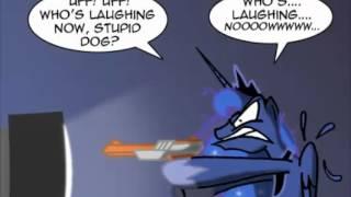 getlinkyoutube.com-8-Bit Gamer Luna: Duck Hunt Comic Dub
