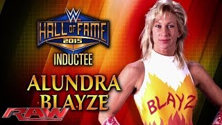 getlinkyoutube.com-Alundra Blayze is announced for the WWE Hall of Fame Class of 2015: Raw, March 2, 2015