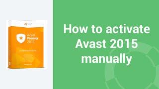 getlinkyoutube.com-How to activate Avast 2015 manually