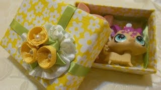 getlinkyoutube.com-How to Make a Beautiful Recycle Gift Box (Fabric)