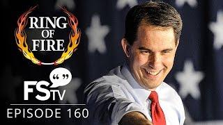 getlinkyoutube.com-Ring of Fire On Free Speech TV   Episode 160 - Corporate America Chooses Scott Walker For 2016