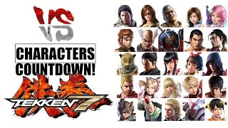 getlinkyoutube.com-TEKKEN 7 Characters Countdown!
