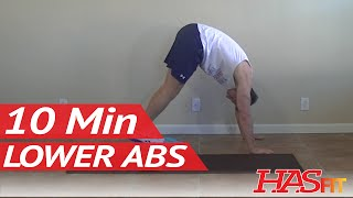 getlinkyoutube.com-10 Min Lower Ab Workout to Lose Lower Belly Fat - HASfit Lower Abs Workout to Get Rid of Belly Pooch
