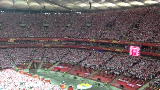 getlinkyoutube.com-The national anthem of Poland/ Hymn Polski/ Poland-Serbia/ Volleyball Men's World Championship 2014