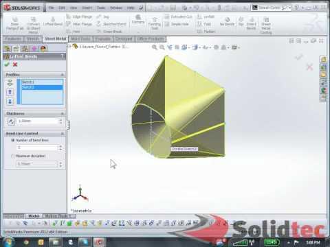 SolidWorks Sheet Metal Flat Patterns