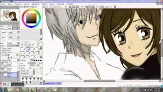 getlinkyoutube.com-Speed Art: Kamisama Hajimemashita