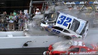 getlinkyoutube.com-Best NASCAR Crashes In History