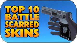 getlinkyoutube.com-CS GO - Top 10 Battlescarred Skins (Best Battle-Scarred Skins)