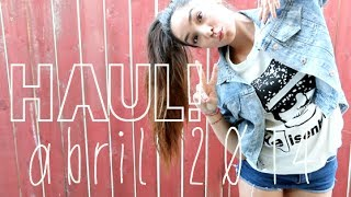 getlinkyoutube.com-HAUL! (abril 2014)