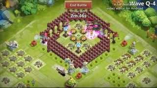 Castle Clash : HBM ( Q ) farming with out pd