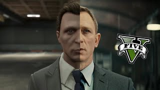 getlinkyoutube.com-Spectre in GTA V - Side by Side Comparison