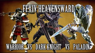 getlinkyoutube.com-FFXIV Heavensward: Paladin vs Warrior vs Dark Knight