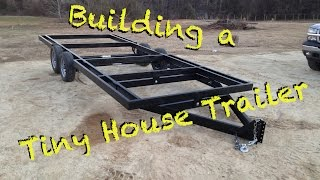 getlinkyoutube.com-How to Build a Tiny House trailer from scratch