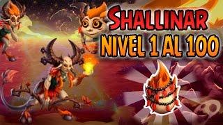 getlinkyoutube.com-Monster Legends - Shallinar (Nivel 1 al 100) + Combate PVP