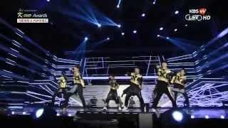 getlinkyoutube.com-140212 EXO - Wolf + GROWL Live, 3rd Gaon Chart Kpop Award 2014 [HD]