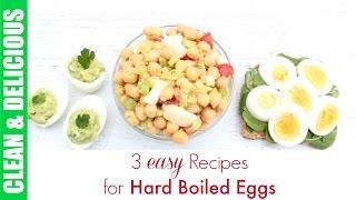 getlinkyoutube.com-Hard Boiled Egg Recipe 3-Ways