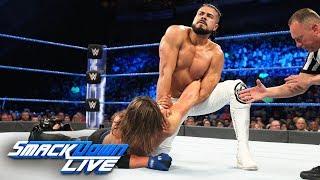 AJ Styles vs. Andrade