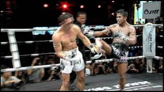 getlinkyoutube.com-THAI FIGHT 2011 : Buakaw Por. Pramuk VS Frankie Giorgi ( December 18 2011 ) Round 3 ( HQ )