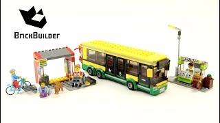Lego City 60154 Bus Station - Lego Speed Build