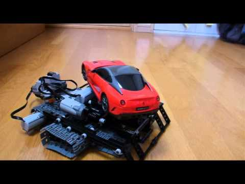 Lego Technic Incline Car Ferrari 599GTO Red 12