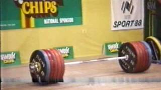 getlinkyoutube.com-Leonid Taranenko world record 266kg clean and jerk.WMV