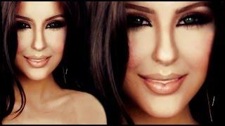 getlinkyoutube.com-Kim Kardashian  make up tutorial by Anastasiya Shpagina