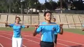 Aerobic Gymnastic Stick (Senam Aerobik Tongkat)