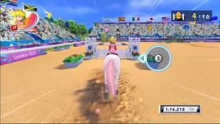 getlinkyoutube.com-Mario et Sonic aux Jeux Olympiques de Londres 2012 - Equitation : Saut d'obstacles
