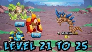getlinkyoutube.com-Monster Legends - Adventure Map - Level 21 to 25