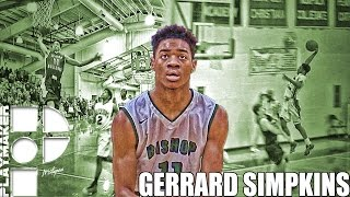 Gerrard Simpkins Takes Flight! Official Junior Mixtape!