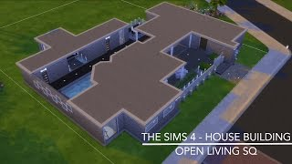 getlinkyoutube.com-The Sims 4 -House Building - Open Living SQ