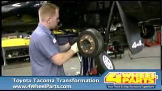 getlinkyoutube.com-Toyota Tacoma Transformation w/ 4 Wheel Parts & Fred Anderson Toyota