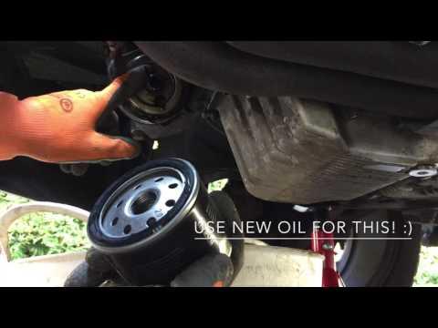 Alfa Romeo Spider 916 & GTV - Oil and oil filter change