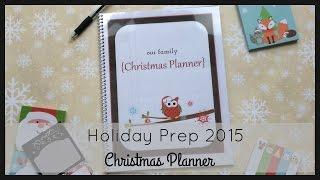 getlinkyoutube.com-Holiday Prep 2015 | Christmas Planner