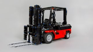 getlinkyoutube.com-[MOC] LEGO® Technic Custom Forklift Mk II