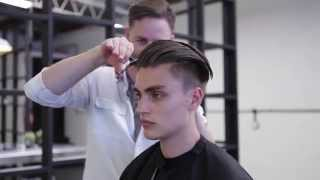 getlinkyoutube.com-Morris Motley X Rory Pierce Undercut Haircut Tutorial