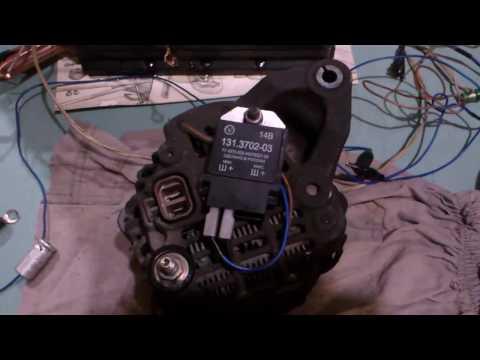 Где находятся щетки генератора у Mitsubishi Паджеро иО