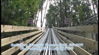 getlinkyoutube.com-Gatlinburg Mountain Coaster Full Ride Video No Brakes