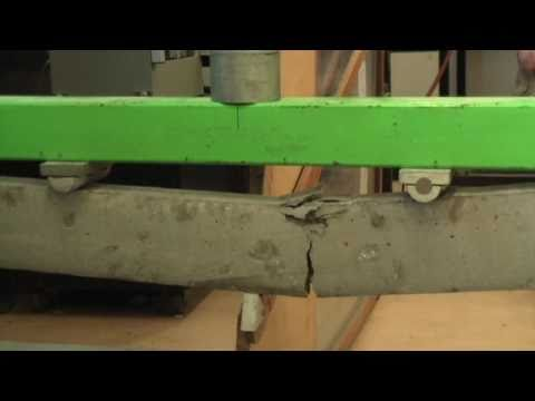 Part 2 - Making and Testing Concrete Beams (Post tensioned/Non-post tensioned)