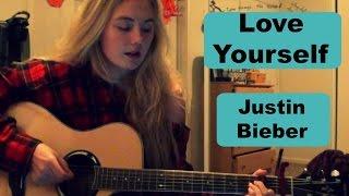 getlinkyoutube.com-Love Yourself- Justin Bieber Guitar Tutorial