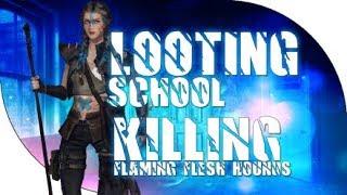 getlinkyoutube.com-Dead Frontier: Champion Looting School + Killing Flesh Hounds