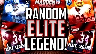 getlinkyoutube.com-3x Elite Legend Packs! RANDOM ELITE LEGENDS!! Madden Mobile