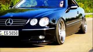 getlinkyoutube.com-V8 Mercedes CL - Black Benz Sport Car