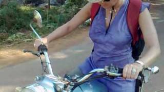 "getlinkyoutube.com-India - Riding a Royal Enfield 350cc ""Bullet"" (Goa) 